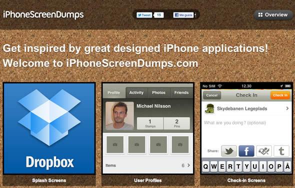 aplicaciones iPhone inspiración