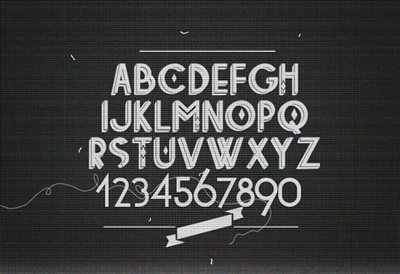 Vista previa de Tetra Font