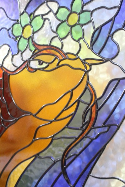 stained glass fish-2