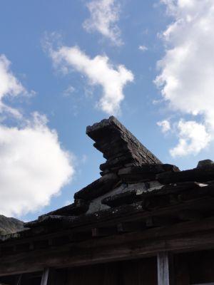 石屋根倉庫