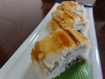 あなごの押し寿司