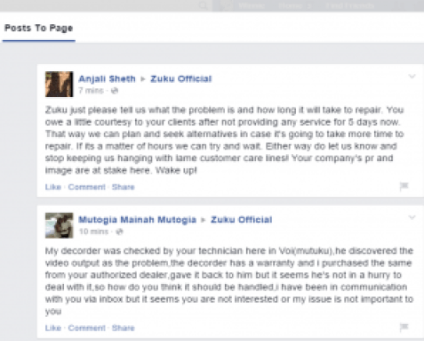Zuku screen shot