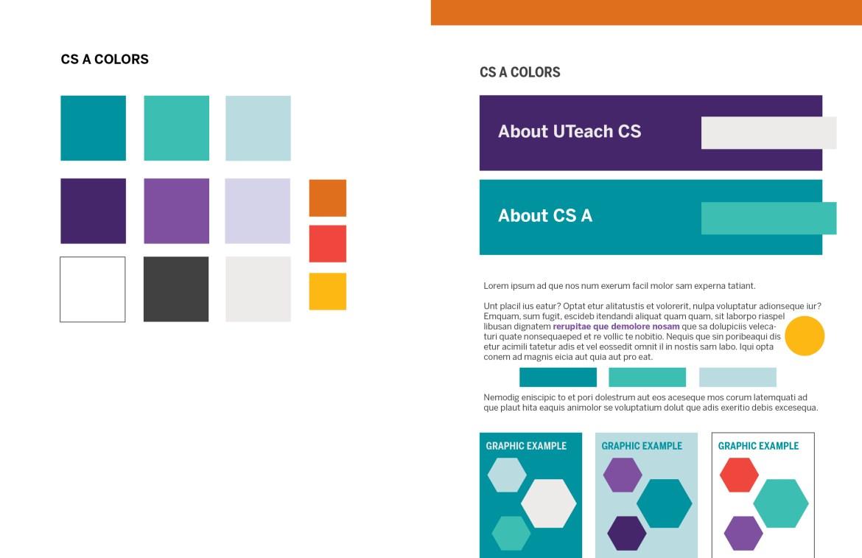 UTeach CS A Color Palette
