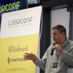 Ryan Sullivan during opening remarks at LoopConf 2018