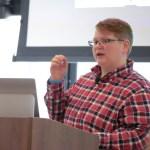 Mel Choyce presenting at LoopConf 2018