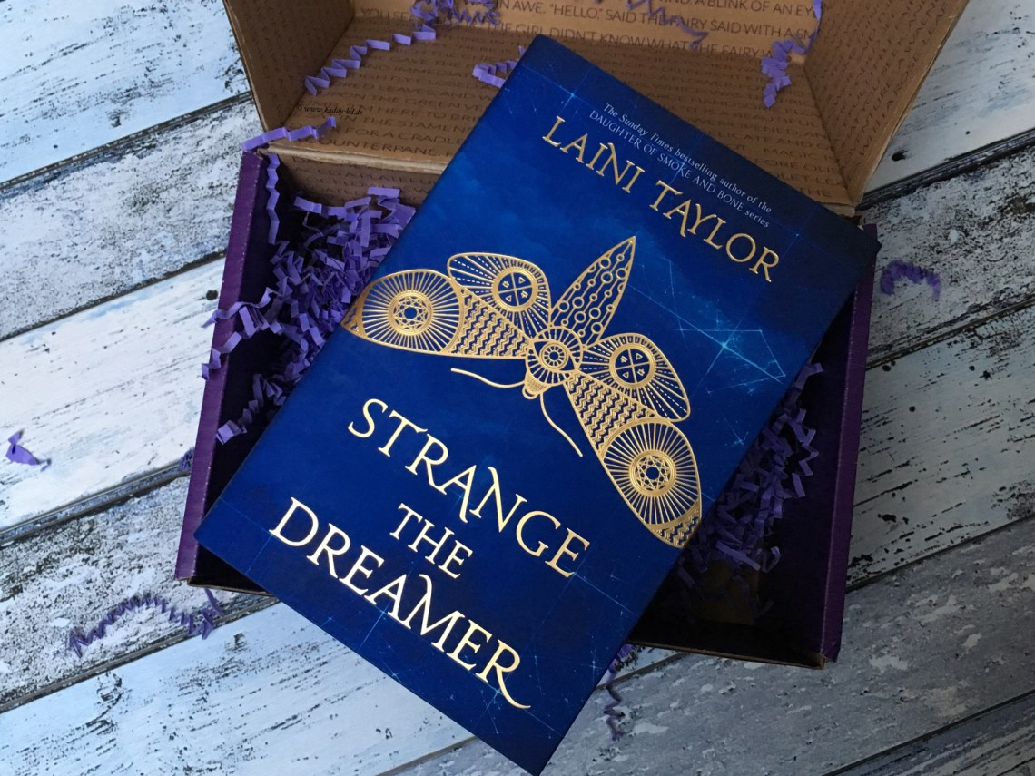 FairyLoot March 2017 one year anniversary lani taylor strange the dreamer