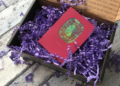 FairyLoot April box dreams and wishes gemstone birth notebook