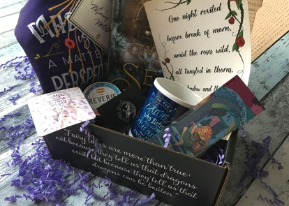FairyLoot April box dreams and wishes complete box