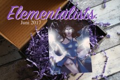 FairyLoot Unboxing Juni 2017 Elementalists Themenkarte