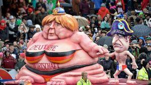 allemagne-carnaval-merkel-hollande-politique-france