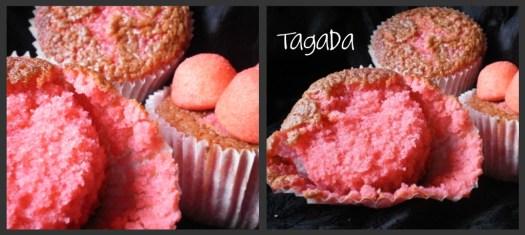 Recette-dessert-muffins fraises tagada ou aux carambar pour un dessert ou un goûter