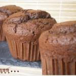 Recette de dessert - muffins au chocolat noir et chocolat blanc