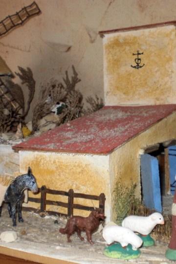 Traditions Provençales-Le Village Provençal et sa Crèche