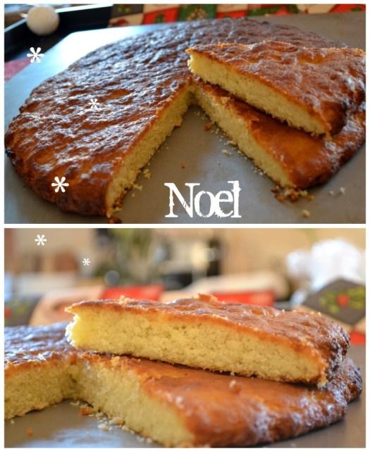 recette de Traditions Provençales-Pompe à huile un dessert pour les fêtes de Noël