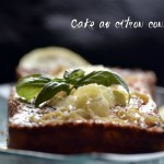 Recette bio du cake au citron confit