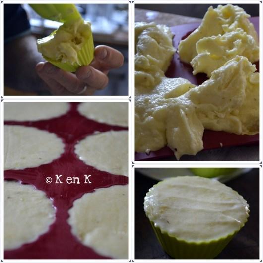 Préparation du sorbet à l'ananas pour mon 1er bento ©Kaderick en Kuizinn