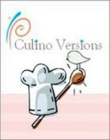Cuisine saine et bio, le logo du blog Culino Versions
