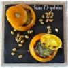 Cuisine saine, Bio, boules d'or et purée de carottes gratinées