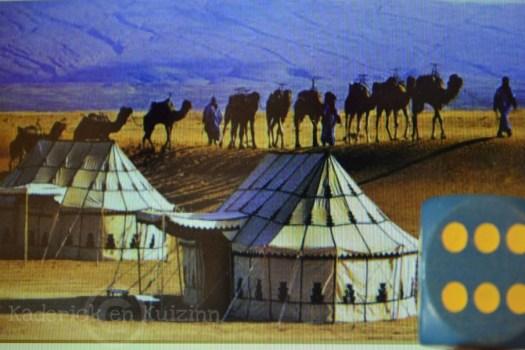 Projet 52-photo d'un dé et de tentes theme 46
