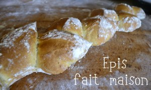Cuisine Bio epis de pain fait maison avec farine bio