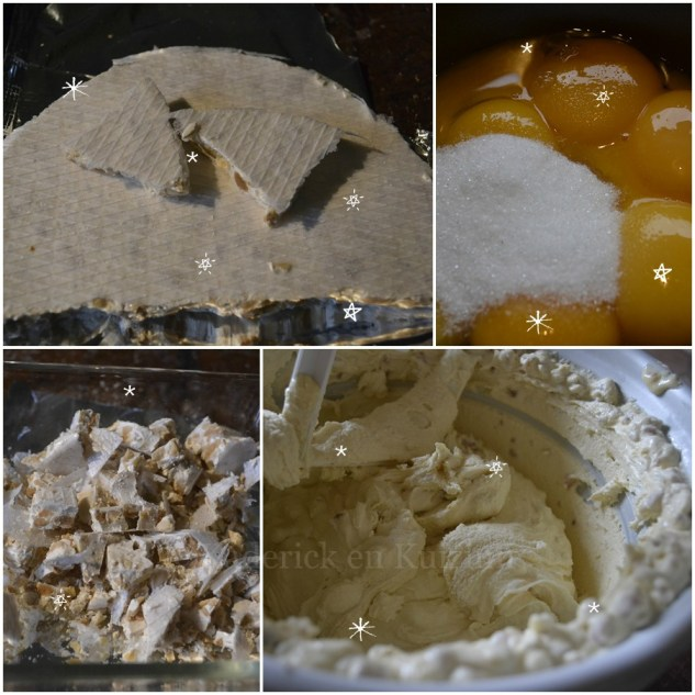 Recette de la glace au nougat à la sorbetière