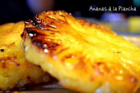 Recette de l'ananas caramélisé à la plancha - vos recettes préférées
