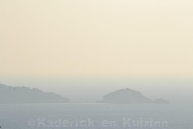 Photo du ciel voilé à Marseille sur le thème lumière du projet 52 de vivre la photo