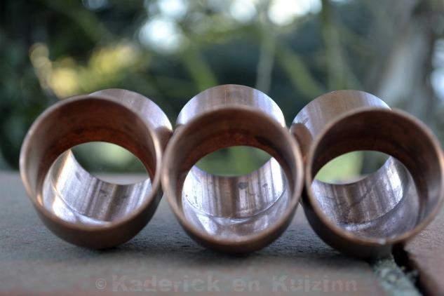 Photo de trois coudes en cuivre pour le projet 52 du blog vivre la photo