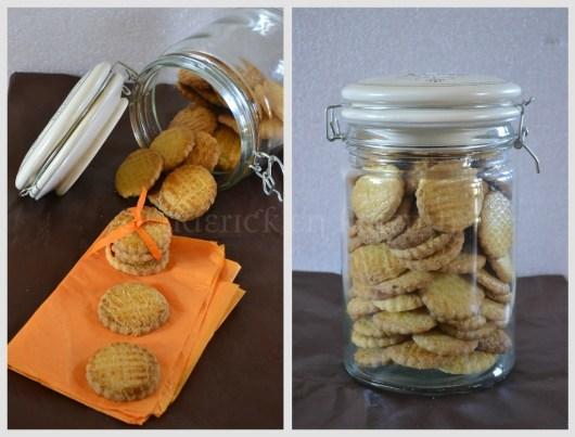 Recette des galettes bretonnes en bocal biscuits fait maison pour un goûter