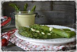 Recette des asperges sauce blanche une entrée pour le week-end de Pâques - Menu Paques