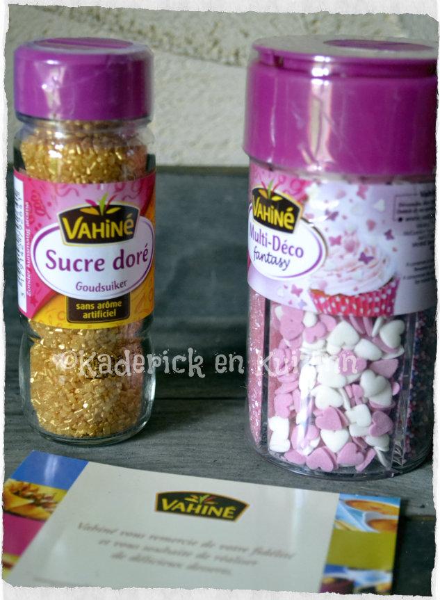 Partenariat dessert - Produits Vahiné pour faire de la pâtisserie et décoration