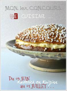 Affiche de mon 1er concours de cuisine pour les 2 ans de mon blog organisé avec les éditions Solar