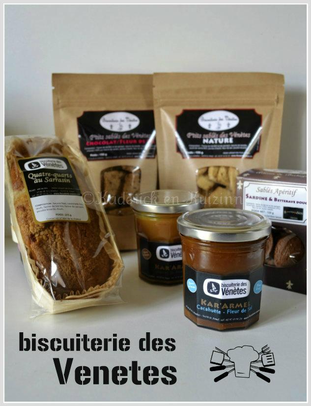 Partenariat biscuit - Biscuiterie des Vénètes une petite entreprise familiale avec des produits sains et bio