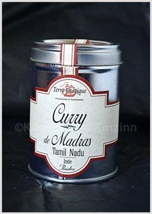 Partenariat condiment - Curry Madras de Terre exotique pour parfumer les viandes blanches