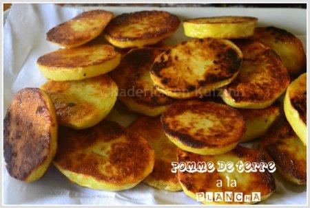 Recette pomme de terre rissolées à la plancha pour accompagner une viande ou un poisson