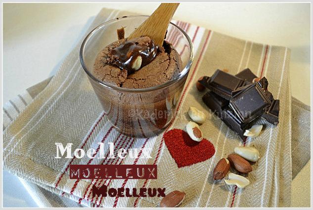 Recette moelleux au chocolat et caramel de cacahuète offert par la biscuiterie Vénètes