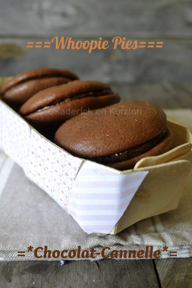 Dégustation Whoopie pies ganache Chocolat-Cannelle de mon partenariat Zaabär chocolatier suisse