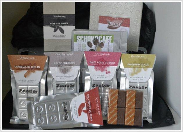 Partenariat chocolat - produits chocolat Zaabär chocolatier Belge