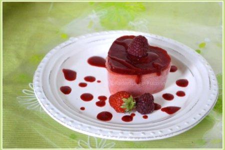 Recette sorbet pêche et coulis fraise & framboise bio pour un dessert estival