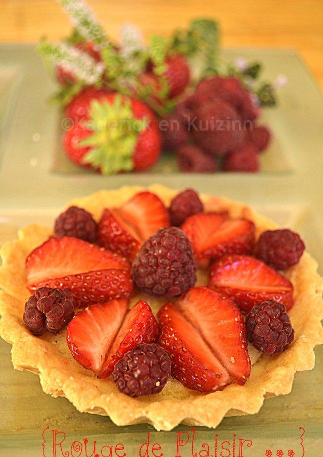 Tartelette amandine aux fruits rouges bio pour le thème tartelette aux fruits d'été pour Culino Versions