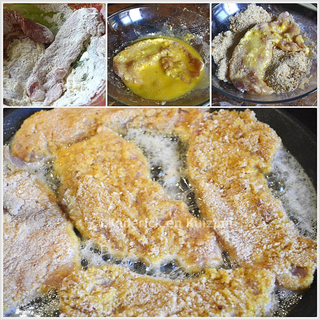 1e0f19f4f33 Escalope de dinde panée et potatoes maison - recette de cuisine