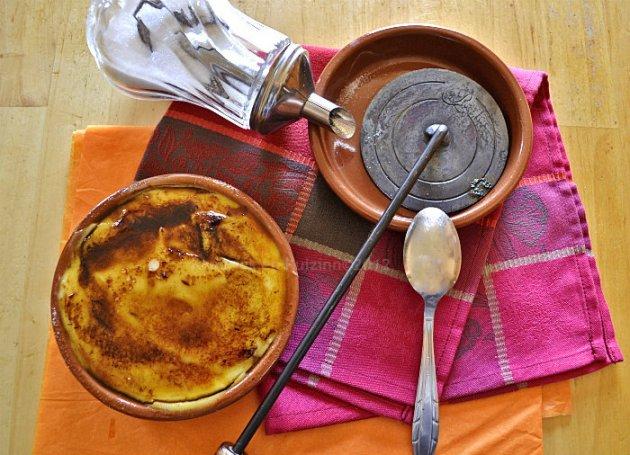 Recette facile crème catalane caramélisée au fer pour un dessert gourmand sur Kaderick en Kuizinn©