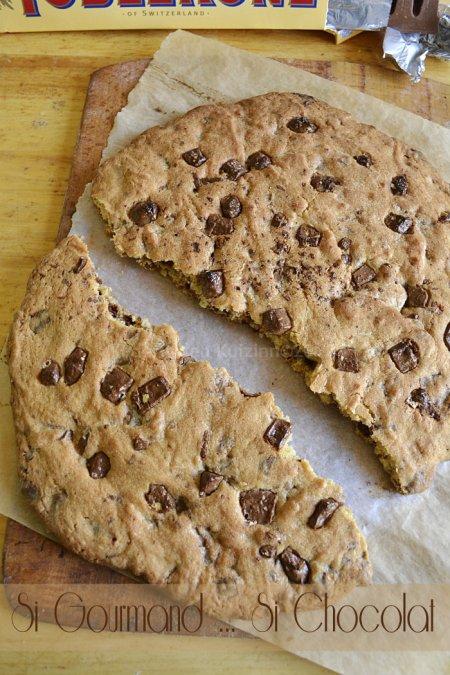 Dégustation du défi goûter avec la recette du cookie géant au toblerone® pour un dessert ou un goûter trop gourmand - Kaderick en Kuizinn©