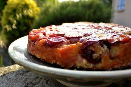 Recette du gateau moelleux aux prunes bio violette, un dessert de saison - Kaderick en Kuizinn©