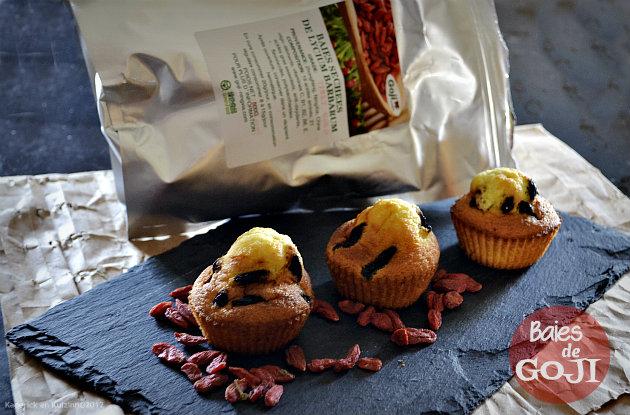 Recette des madeleines aux baies de goji de mon partenariat Ning Xia attention aux réactions allergiques - Kaderick en Kuizinn©