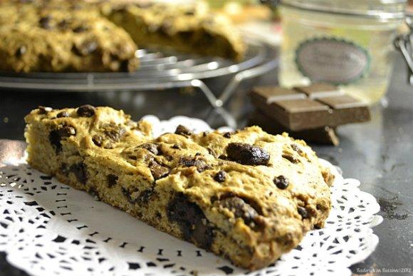 Recette du cookie geant à la crème de marron & chocolat caramel pour un goûter - Kaderick en Kuizinn©