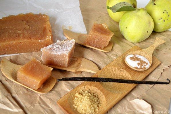 Recette de pâte de coing à la vanille et cannelle pour une confiserie d'enfance - Kaderick en Kuizinn©