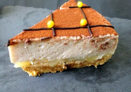Cheesecake poire