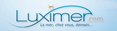 Logo de Luximer, le site breton de vente sur internet de poisson et crustacés