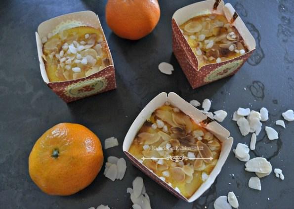 Recette des mini cakes lait iben aux clementines bio - Kaderick en Kuizinn©2012